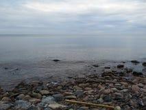 Orilla del lago Ontario imagen de archivo libre de regalías