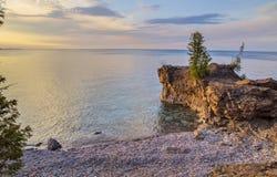Orilla del lago Superior fotos de archivo