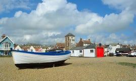 Orilla del mar de Aldeburgh Imágenes de archivo libres de regalías