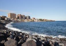 Orilla del mar de Catania Imagenes de archivo
