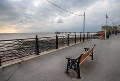 Orilla del mar de Clevedon Imagen de archivo libre de regalías