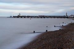 Orilla del mar de la bahía de Herne Fotos de archivo libres de regalías