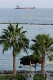 Orilla del mar de Limassol Fotografía de archivo libre de regalías
