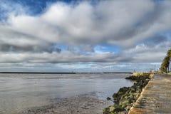 Orilla del mar de Oporto Foto de archivo libre de regalías