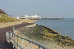 Orilla del mar de Portsmouth hampshire inglaterra Fotografía de archivo
