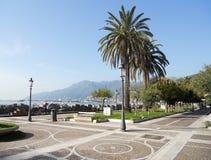Orilla del mar de Salerno Imagen de archivo libre de regalías