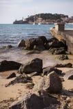 Orilla del mar de Soller Imagenes de archivo
