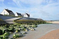 Orilla del mar de Wissant Foto de archivo