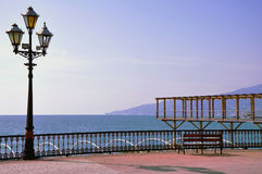 Orilla del mar de Yalta Fotografía de archivo