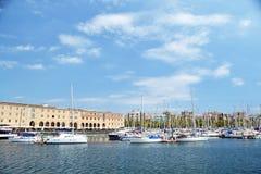 Orilla del mar en Barcelona Foto de archivo
