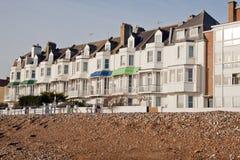 Orilla del mar Kent de Hythe Imagen de archivo libre de regalías