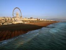 Orilla del mar Reino Unido de Brighton Foto de archivo libre de regalías