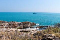 Orilla del mar, Tailandia Foto de archivo libre de regalías