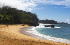 Orilla del norte, Kauai, Hawaii Foto de archivo libre de regalías