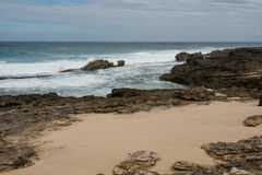Orilla del norte, Oahu Foto de archivo