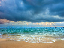 Orilla del Océano Índico Fotos de archivo libres de regalías