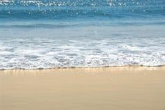 Orilla del océano Imagen de archivo libre de regalías