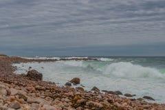 Orilla del océano Foto de archivo libre de regalías