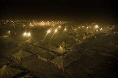 Orilla del río City-01 imagen de archivo