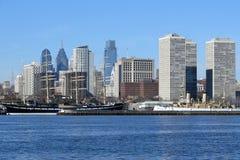 Orilla del río de Philadelphia imagenes de archivo