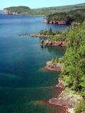 Orilla del superior de lago Imagen de archivo