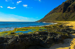 Orilla del sur Oahu Fotos de archivo libres de regalías