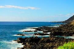 Orilla del sur Oahu Fotografía de archivo