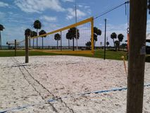 Orilla del voleibol Imagen de archivo