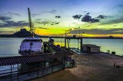 Orilla grande del barco fotografía de archivo libre de regalías