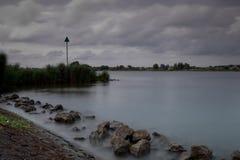 Orilla IJssel cerca de Kampen Fotografía de archivo