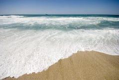 Orilla mediterránea Foto de archivo