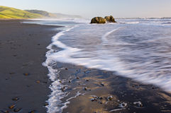 Orilla pacífica California Foto de archivo