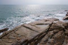 Orilla rocosa Foto de archivo