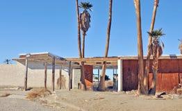 Orillas de desierto: Marina Clubhouse móvil Foto de archivo libre de regalías