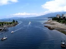 Orillas de Vancouver Fotografía de archivo libre de regalías