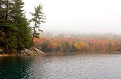 A orillas del lago Fotografía de archivo