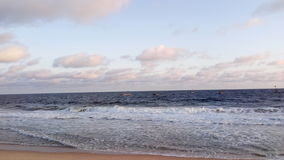 Orimendu plaża Obrazy Royalty Free
