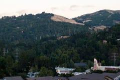 Orinda-Hügel Stockbild
