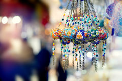Orinetal Beads Shot in Turkish Bazar Market Stock Images