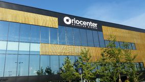 Orio al Serio, Bergamo Die neuen Mall-Orio Center Selected-Speicher Stockfotos