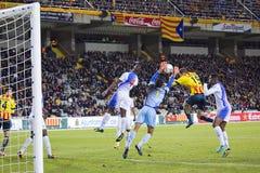 Oriol Riera of Catalonia National team Stock Photo