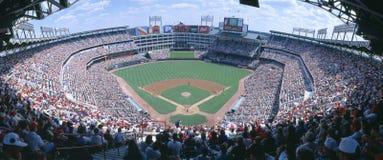 Orioles de Baltimore das Texas Rangers v. Fotografia de Stock Royalty Free