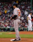 Orioles de Baltimore de Rafael Palmeiro Fotografia de Stock Royalty Free