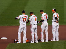 Orioles Infielders Stock Photos