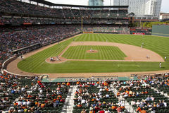 Orioles Park at Camden Yards Stock Photography