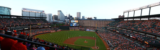 Orioles park at Campden Yards Stock Photo