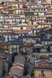 Oriolo, a little town in calabria near parco del pollino Stock Photo