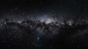 Orion Belt of the Milkey Way Galaxy in Outer Space