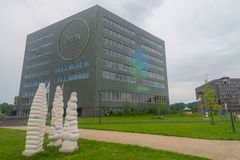 Orion Building at Wageningen University Royalty Free Stock Image