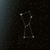 Orion constellation in night sky Royalty Free Stock Photos